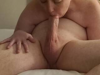 My sexy fiance is sucking the cock of a friend of ours!  He filled her mouth with cum!