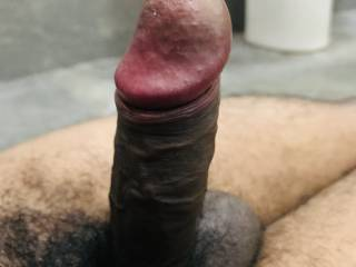 my black cock is waiting for a handjob. who will play with i, give a handjob and make it cum? please comment