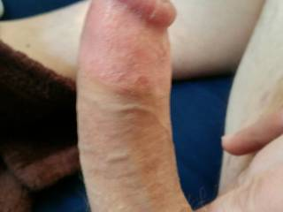 My dick always drips out so much precum!