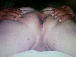 Love to feel some warm cum inside or cover me if you want.