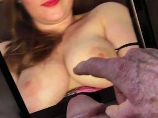 Nice tits, Mrniceguy2016's wife always turns me on.