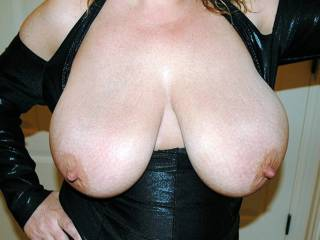 Look at her huge tits