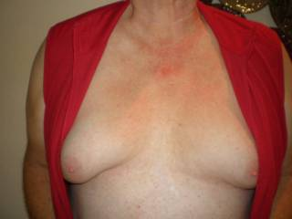 Would love to jack off on your breast.