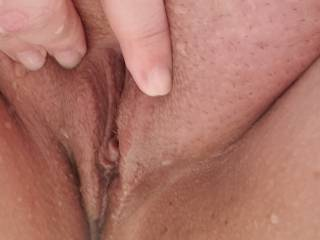I just need a huge load dripping out of my unprotected slut pussy! would you coat my cervix for me?