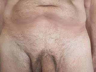 Just enjoying being naked and showing off my cock.