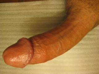Lovely shape cock, nice tight cut, good length and thickness. Love to more of it soon   Mrs Oz