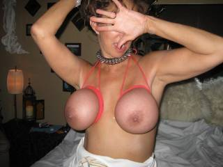 we met and Margo had never had her nice tits tied before