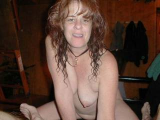 I adore redheads. and your tits.