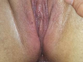 Great view of her pussy as you pump her tight ass