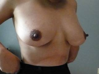 WOW! I love your perfect tits and amazing huge nipples! WOW! You have the most beautiful and perfect tits I've ever seen!