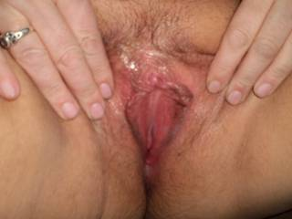 Mmmm...i would love to get my tongue on your swollen clit and juicy cunt.