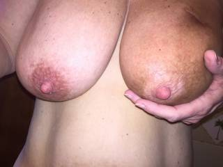 Just 1. I have to treat each Nipple Equally and spend time sucking on both