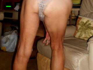 Showing off  my new panties....do you like them?