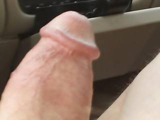 I snapped a quick pic after she sucked my dick and balls and right before I stuck it it in her tight pussy...