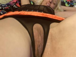Nibble my clit