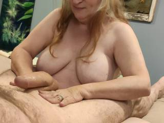 Cock Masseuse: This married woman is ready to massage your cock... from head to balls. All she needs is a hard and willing cock to work on.
