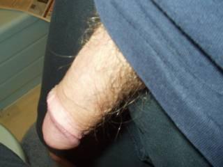 My cock limp...