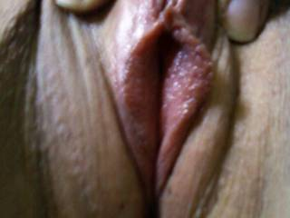 would lick the lips and slowly suck your clit into my hungry mouth and tongue fuck you until you cum hard in my mouth ,then flip you over and enter you in one long hard thrust and fill you up with my warm cum