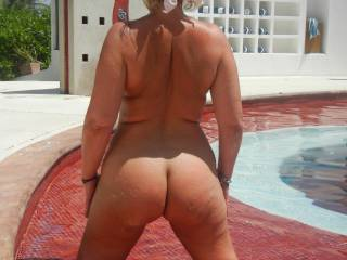 Where are you at in pic ??? We love nudist resorts and that place looks awesome....no what a view ...yummy