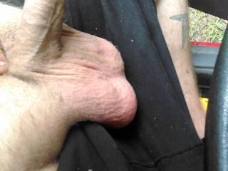 Loving my big ass balls