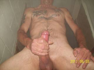 Love getting naked and stroking my COCK. Any ladies want to watch?