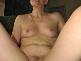 can i cum in i love your tummy and hairy pussy it looks like mine