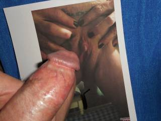 Wanting to rub my swollen cock-head against Barbe\'s clit and wet pussy and cover her with my hot cum  >:)