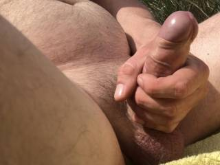 Getting naked outdoors makes so horny