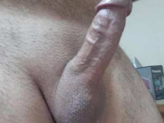 So hard and horny. Any volunteer to help? What will you do to my balls and cock?