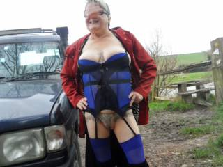 hi all just decided to go for a drive during the day hope you like this dirty comments welcome mature couple