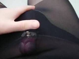 Dressed like a slut and rubbing my small dick. Waiting for the real work to happen. Wishing I had a dominatrix that could help me unloady female side once in a while.. 😔