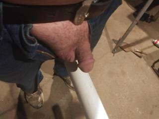 Showing my cock off even at work