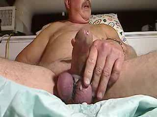 Having a nice ejaculation with my balls tightly tied