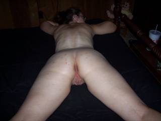 omg sweet ass and pussy. u better grab something and hold on tight. u going to get th hell eat and fucked out u.