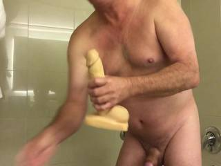 Nice stroking and a very sexy body!  Love that dildo action. Looking very good. Thanks.
