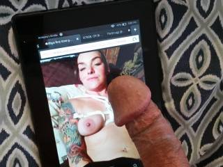 Tattoos and cum
