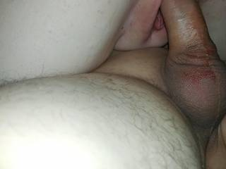 D riding my fat cock like a champ
