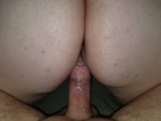 cock felt great as he pumped is cream in me