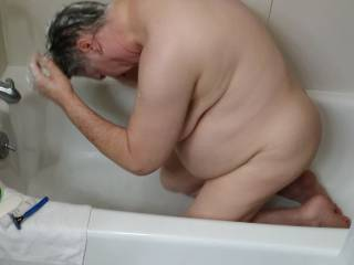 my bbw at bathtime