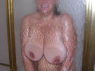Big Titties in the Shower