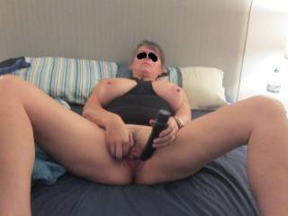 About to play with my black cock