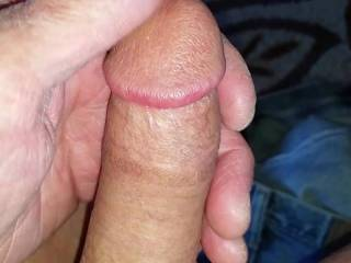 A short dick play. No cum
