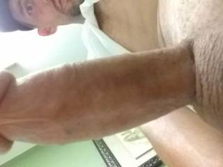 I always play with my cock