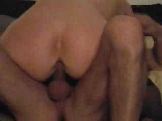 A very nice ass let me shoot a load on it while you fuck her