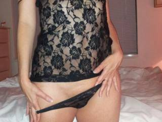 LOVE TO SEE HER IN THOSE SEXXY PANTIES AFTER YOU MAKE A HOTT CREAMY TREAT IN HER SWEET HOTT PUSSY!!!1