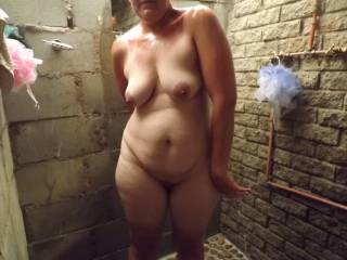 Nice pussy and tits of wife