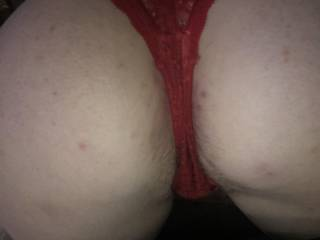 Wife's huge arse