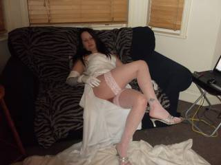 she wants to play the bride for a stranger to use her
