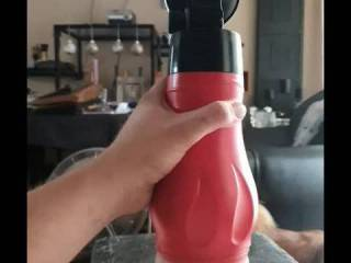 Watching porn and fucking my toy...thoughts?