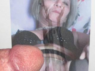 My asswhore Brigitte showing off her sweet cunt!